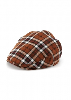 CHECK HUNTING CAP