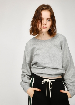 BACK CACHE-COEUR SWEAT TOP