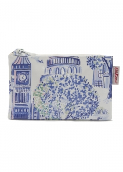 Zip Purse London Toile