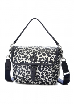 Tory Burch - 2WAYバッグ / NYLON CROSS-BODY 【LARGE CLOUDED LEOPARD】