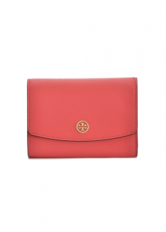 Tory Burch - 三つ折り財布 / PARKER 【RED GINGER】
