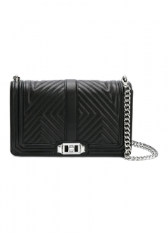 LUXURY BRAND BUYING SELECT - 【Rebecca Minkoff】GEO LOVE QUILTED LEATHER CROSSBODY BAG(海外買付のため約3~4週間後のお届けです)