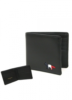 IMPORT BRAND COLLECTION - 【MAISON KITSUNE】【国内未発売】二つ折り財布 TRICOLOR FOX WALLET LEATHER