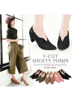 KOBE LETTUCE -Fashion Goods- - Vカットシューティー