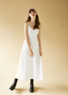 SW COTTON CRAPE DRESS