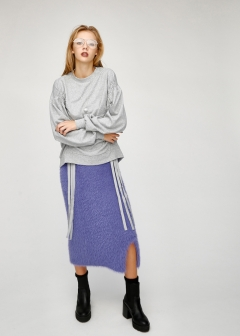 SHAGGY KNIT SKIRT