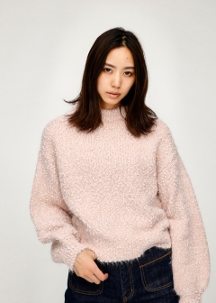 CHANKY SHAGGY KNIT