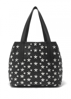 SOFIA L トートバッグ / LEATHER WITH STARS 【BLACK】