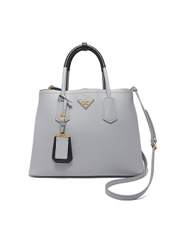 PRADA - Bag Collection - - 2WAYバッグ / SAFFIANO CUIR 【GRANITO+NERO】