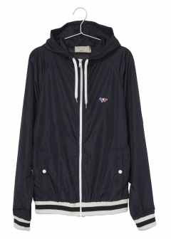 MAISON KITSUNE - HOODED WINDBREAKER