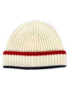 IMPORT BRAND COLLECTION - 【MAISON KITSUNE】MULTICOLOR RIBBED HAT