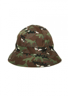 IMPORT BRAND COLLECTION - 【MAISON KITSUNE】ALL-OVER CAMO FOX BUCKET HAT