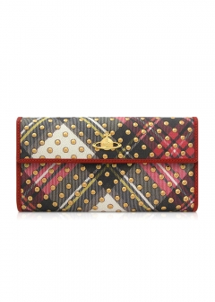IMPORT BRAND COLLECTION - 【Vivienne Westwood】TARTAN DOTS LOMG WALLET