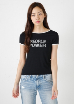 【MOUSSY】PEOPLE POWER RINGER TSJ