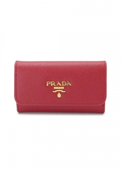 PRADA - wallet and more - SAFFIANO METAL 6連フック キーケース