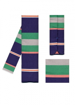 IMPORT BRAND COLLECTION - 【Paul Smith】ボーダー柄 ナロータイ