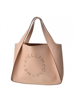 Stella McCartney - ロゴトートバッグ/SMALL TOTE LOGO BAG 【POWDER】