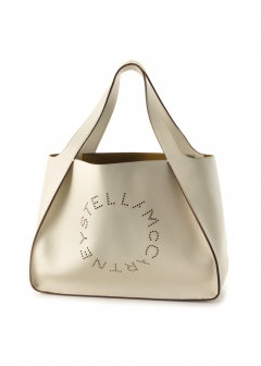 Stella McCartney - ロゴトートバッグ/SMALL TOTE LOGO BAG 【WHITE】