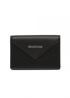BALENCIAGA - ペーパー カードケース / PAPIER ZA THIN CARD 【NOIR】