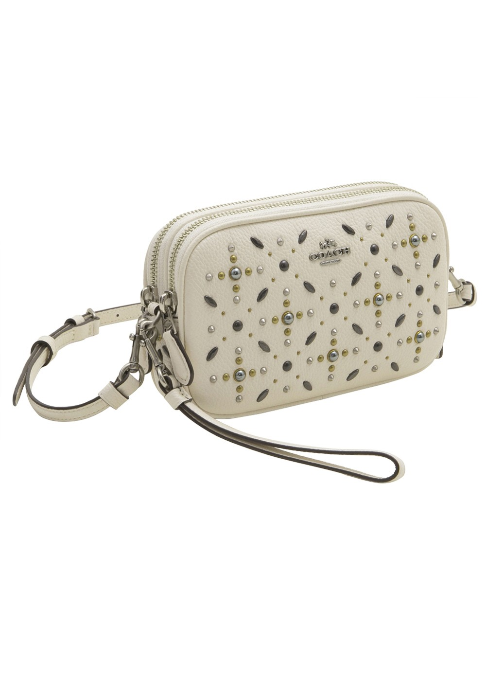 【最大55%OFF】CROSSBODY CLUTCH|CHALK|ショルダーバッグ|COACH(TM)