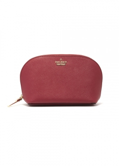 【kate spade NEW YORK】ポーチ / SMALL ABALENE【ROSSO】