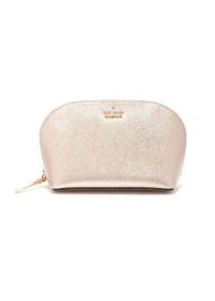 【kate spade NEW YORK】ポーチ / SMALL ABALENE【ROSE GOLD】