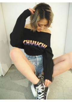 CHUUCH!オフショルKT TOPS