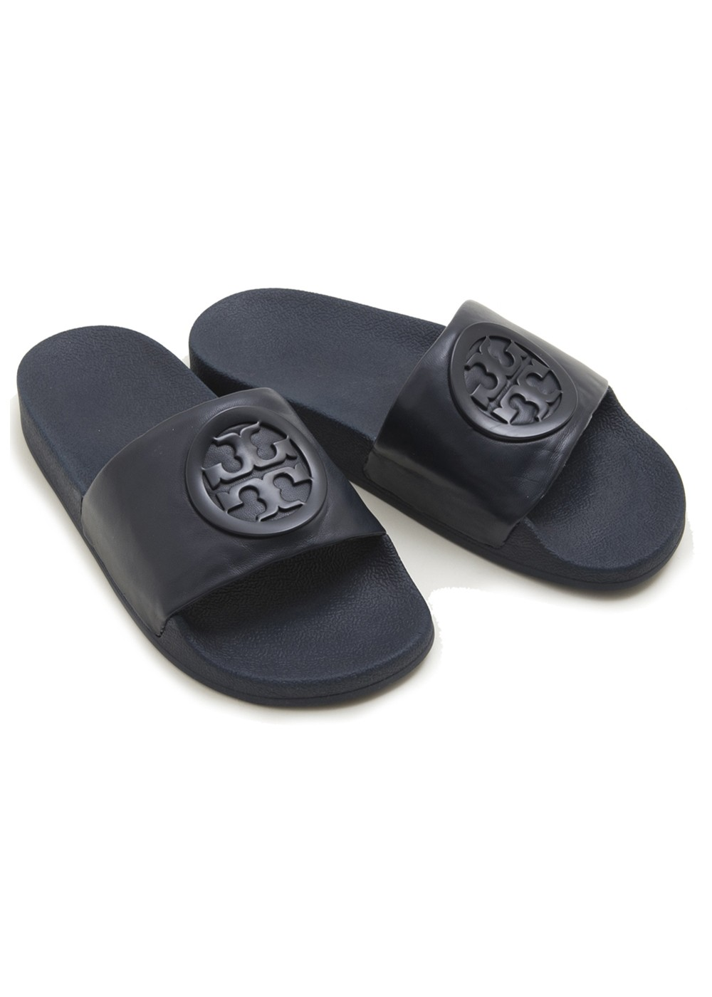 【最大48%OFF】LINA SLIDE|NAVY|サンダル|Tory Burch