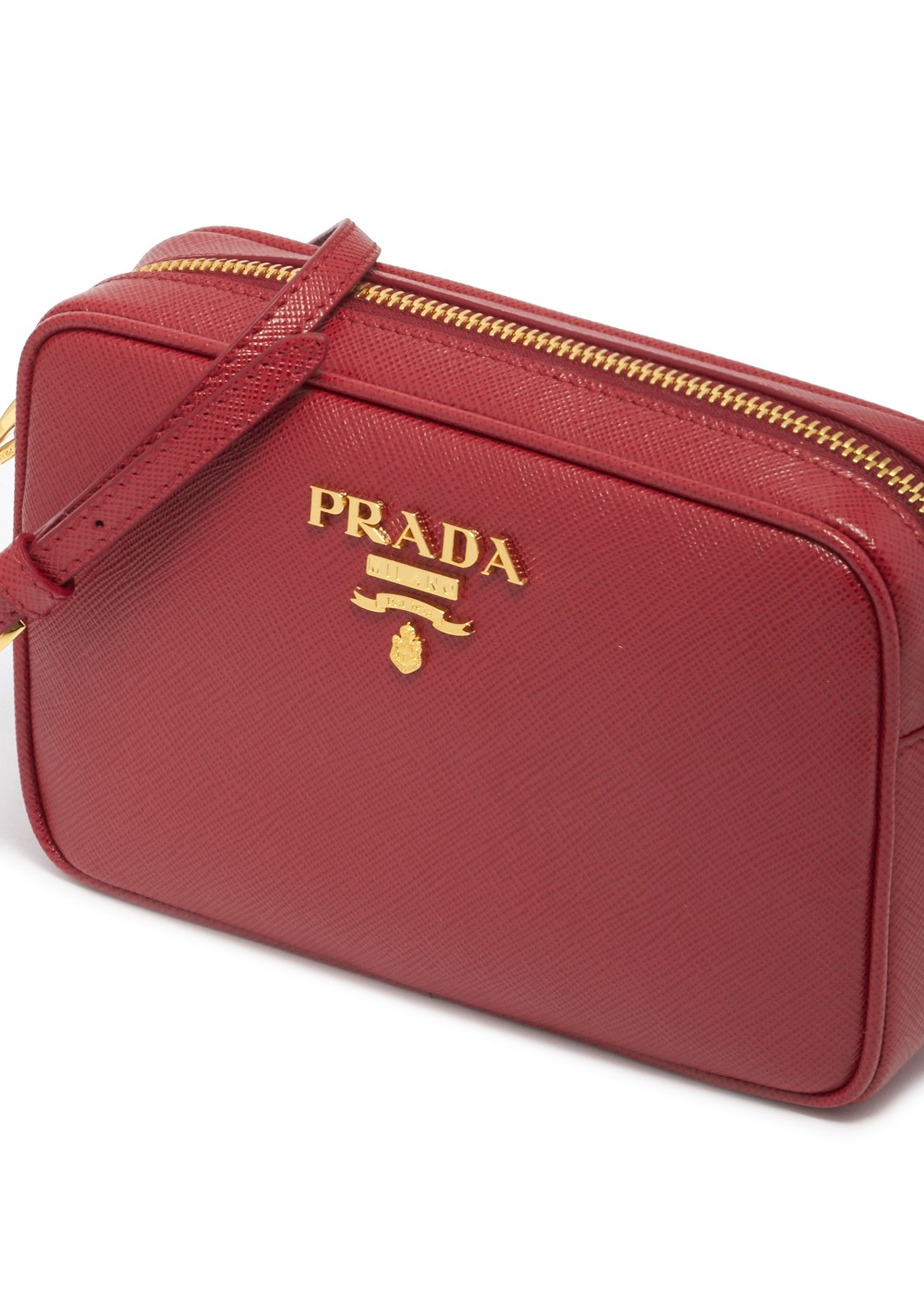Leather Shoulder Bag|FUOCO|ショルダーバッグ|PRADA(T)|最大35%OFF
