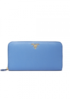PRADA - wallet and more - Bicolor Leather Wallet