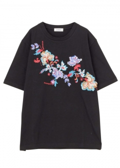 EMBROIDERY ORIENTAL T-SH