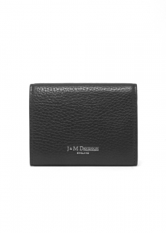 J&M DAVIDSON - SMALL FOLDED WALLET WITH STUDS