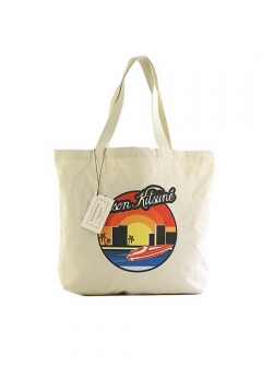 【最大35%OFF】TOTE BAG SUNSET|ECRU|トートバッグ|MAISON KITSUNE(C)