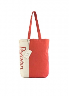 【最大35%OFF】PARISIEN BAG|ECRU/RED|トートバッグ|MAISON KITSUNE