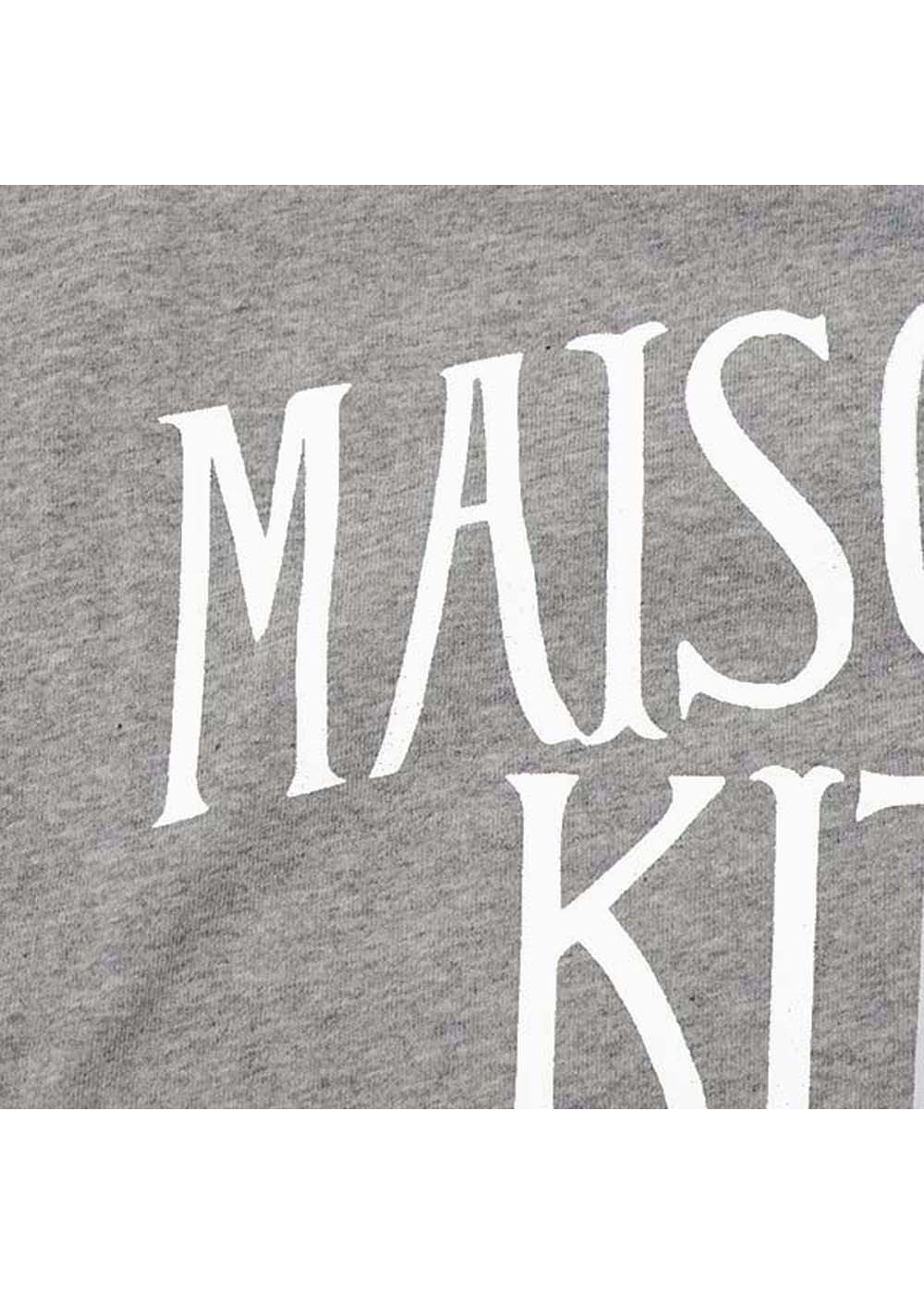 【最大35%OFF】TEE-SHIRT PALAIS ROYAL|GREY MELANGE|Tシャツ|MAISON KITSUNE(C)