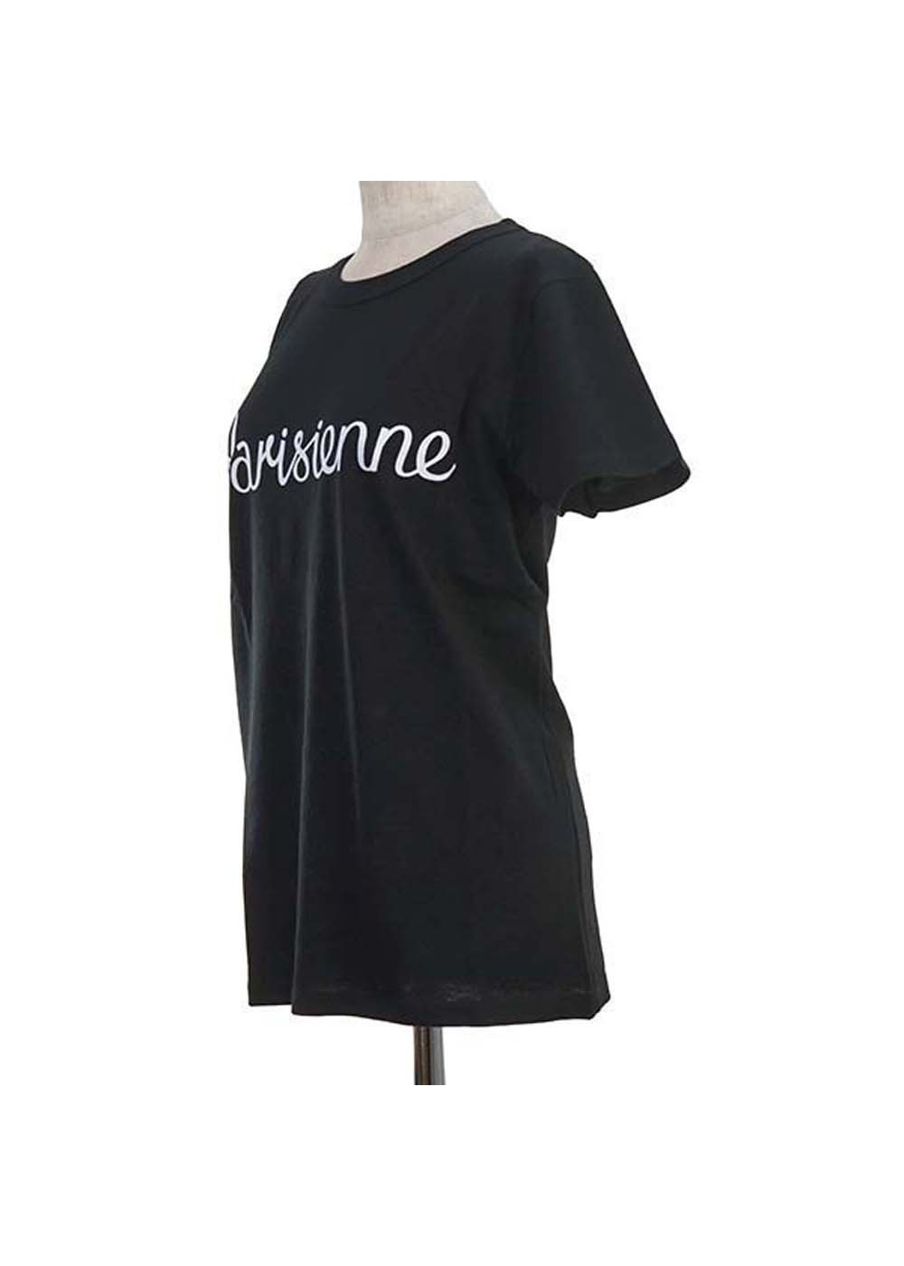 【最大35%OFF】TEE-SHIRT PARISIENNE|BLACK|Tシャツ|MAISON KITSUNE(C)