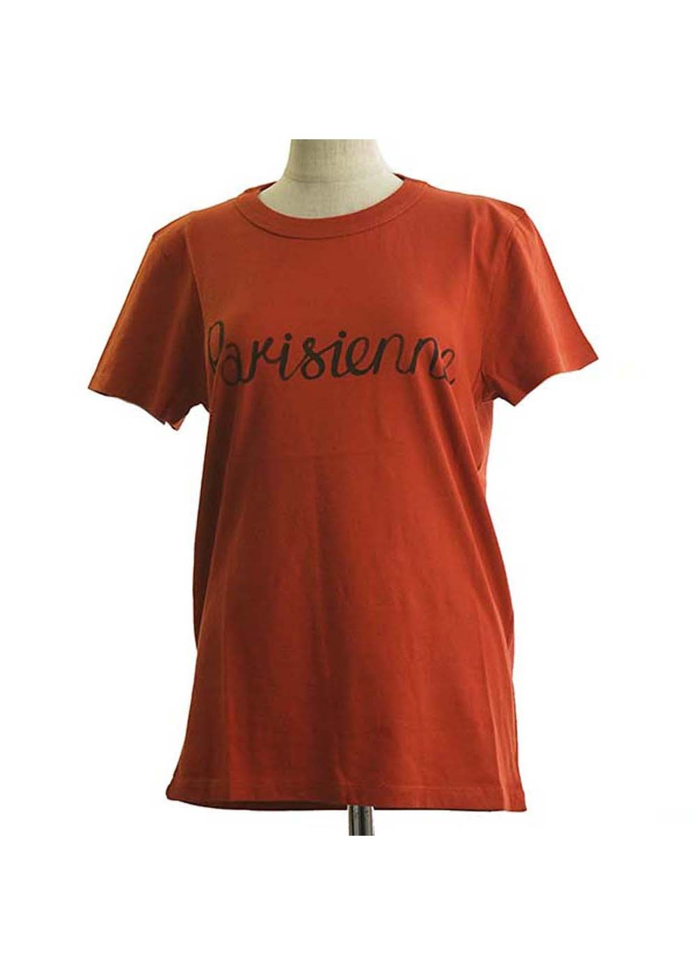 【最大35%OFF】TEE-SHIRT PARISIENNE|RUST|Tシャツ|MAISON KITSUNE(C)