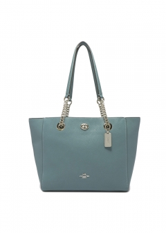 COACH - TURNLOCK CHAIN TOTE 27