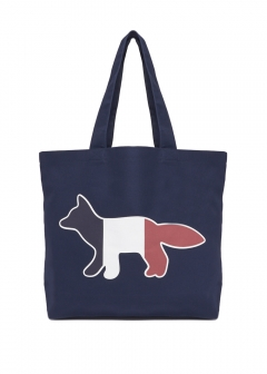 MAISON KITSUNE - TOTE BAG TRICOLOR FOX