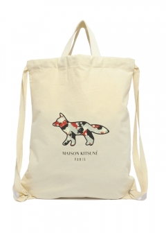 MAISON KITSUNE - TOTE BACKPACK VENICE FOX