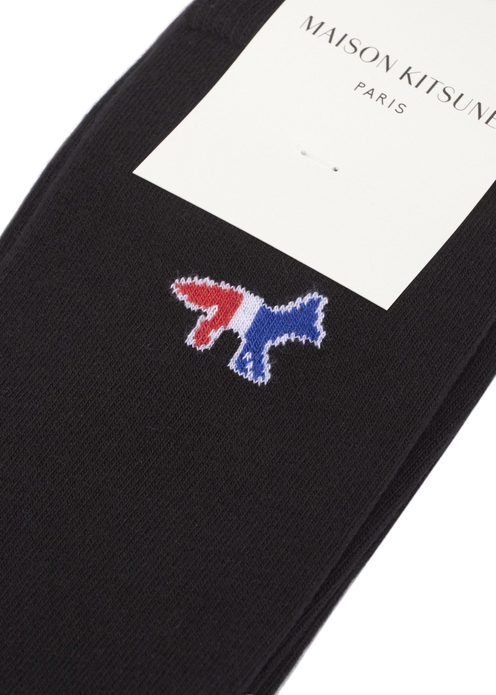【最大51%OFF】TRICOLOR FOX SOCKS|NAVY|ソックス・靴下|MAISON KITSUNE