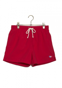 【最大51%OFF】SWIM SHORT TRICOLOR FOX|RED|メンズパンツ|MAISON KITSUNE