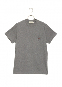 MAISON KITSUNE - TEE-SHIRT VENICE FOX PATCH