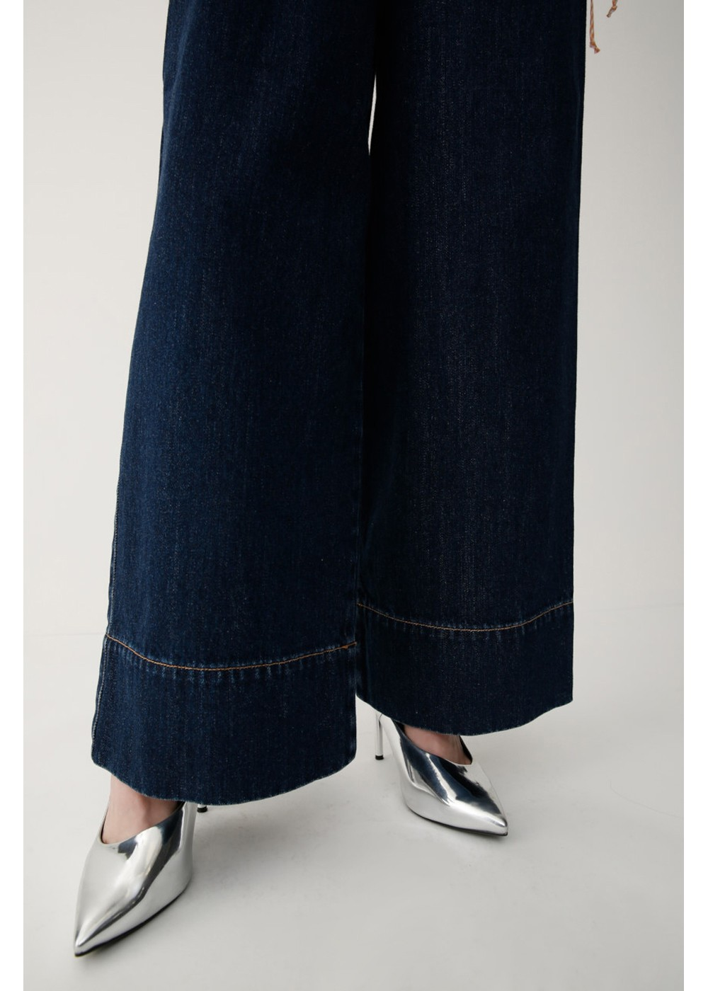 【最大70%OFF】DRAWSTRING WIDE DENIM|D/BLU|デニムパンツ|MOUSSY