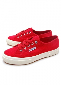 【最大57%OFF】【SUPERGA】2750 COTU|RED|スニーカー|Sneaker Collection ~PUMA / SUPERGA / Chiara Ferragni /diadora~