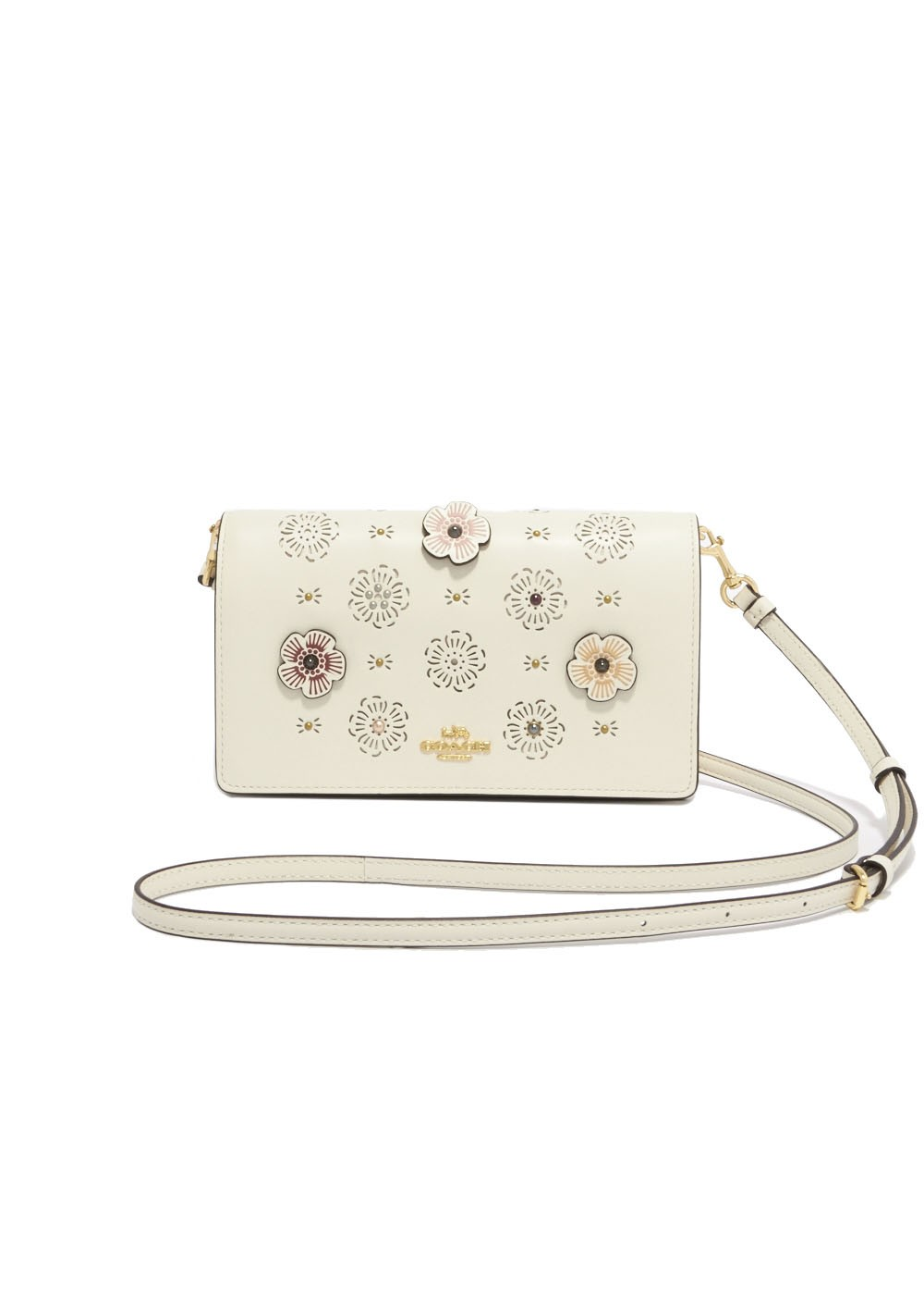 【最大55%OFF】FOLDOVER CROSSBODY|LI/CHALK|ショルダーバッグ|COACH