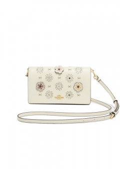 【最大50%OFF】FOLDOVER CROSSBODY|LI/CHALK|ショルダーバッグ|COACH(TM)