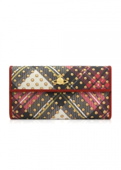 Import Brand Collection ~ PRADA/GUCCI MUSEO / 3.1 Phillip Lim ...etc ~ - 【Vivienne Westwood】TARTAN DOTS LONG WALLET