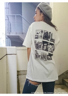 GYDA - Coca-cola Photo BIG Tシャツ