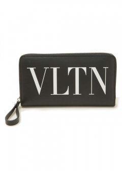 VALENTINO - 【MENS】ZIP AROUND CONTINENTAL WALLET
